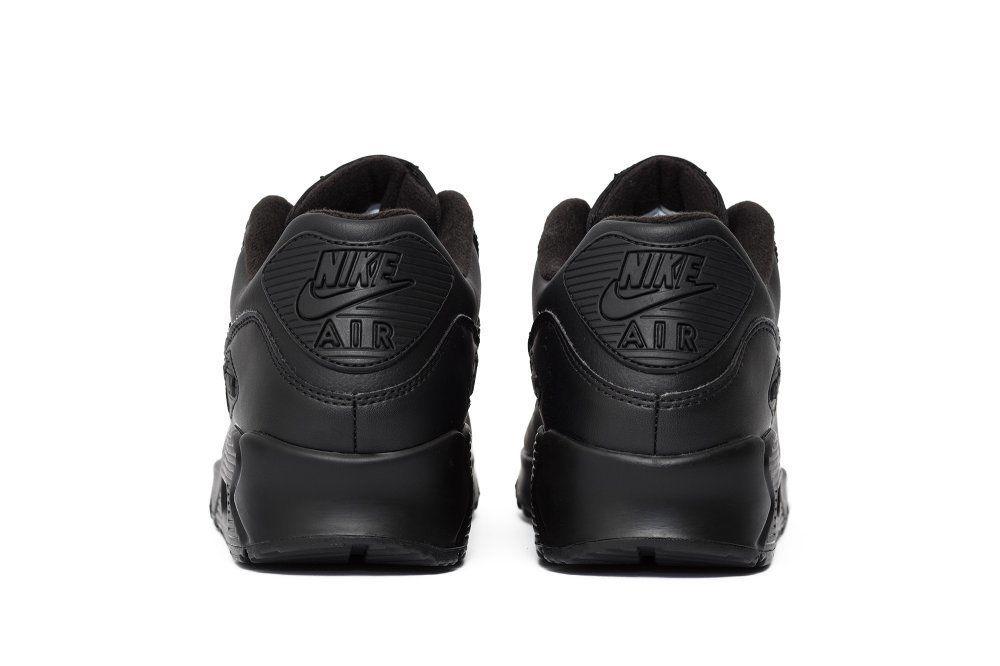 Кроссовки Nike Air Max 90 Leather Black (302519 001)