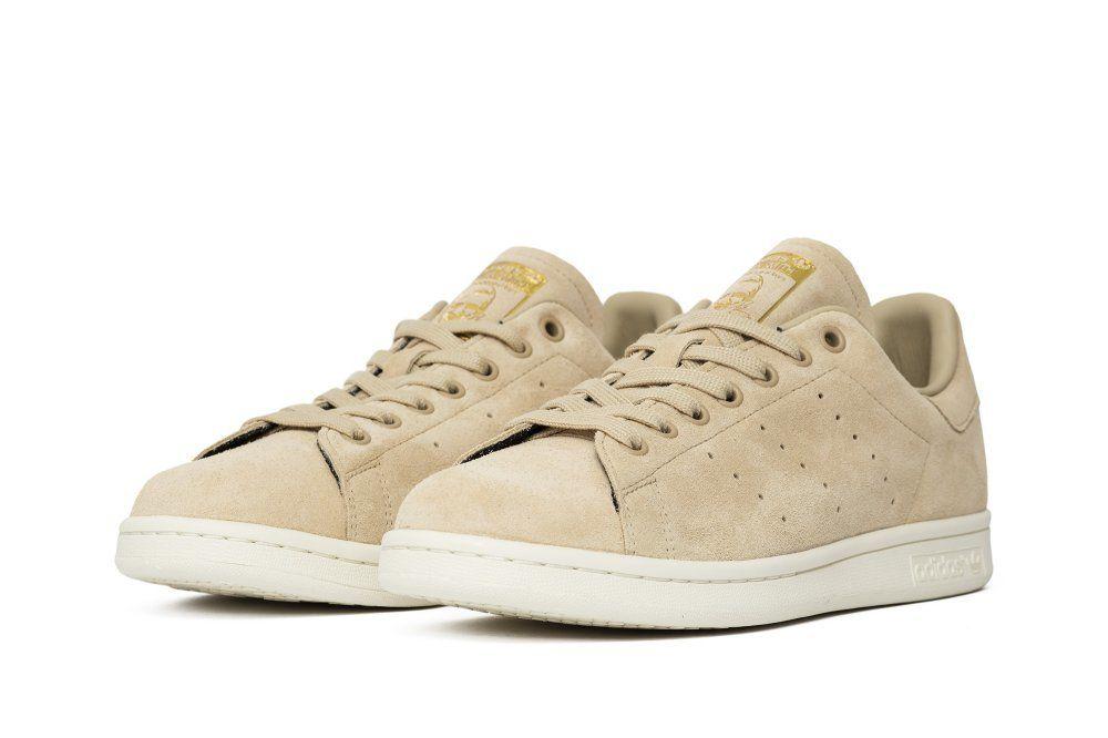 szczegóły dla nowy produkt tani Кроссовки adidas Stan Smith Linen Khaki (BB0039)