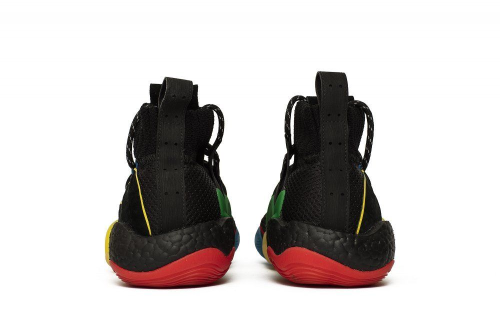 cheap for discount 6dbe8 ab404 Кроссовки adidas x Pharrell Williams Crazy BYW LVL Black (G27805)