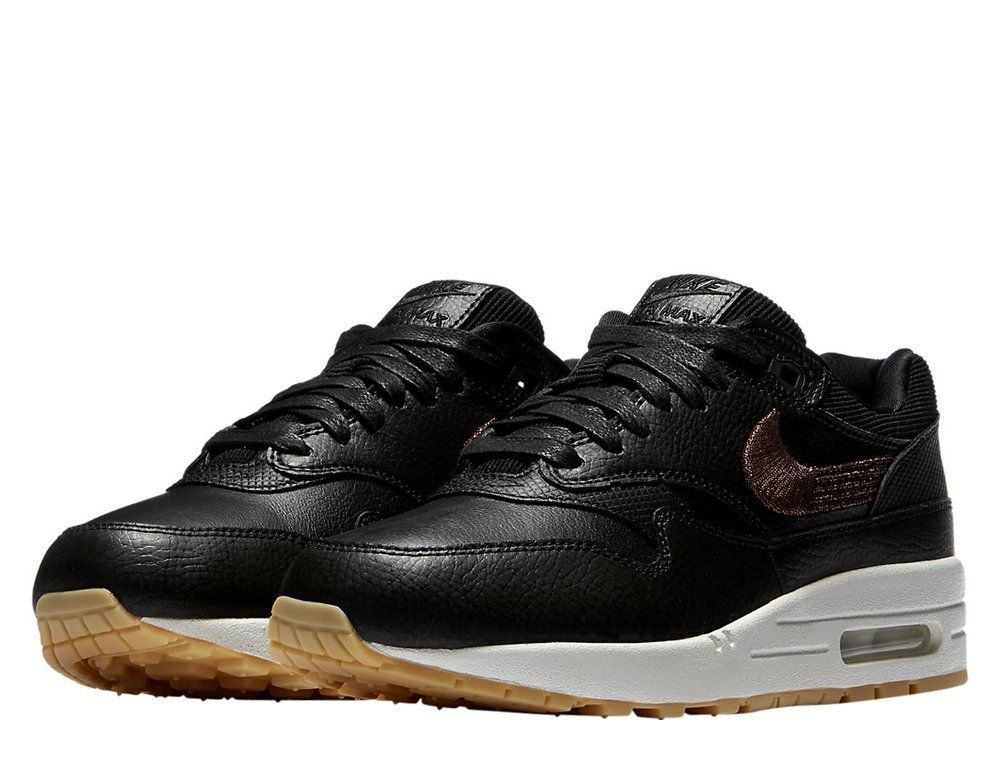 3e983880 Кроссовки Nike Wmns Air Max 1 Premium Black (454746-020) - купить ...