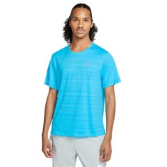 Футболка для бігу Nike Dri fit Miler Top Blue (CU5992-447) - оригінал в Україні