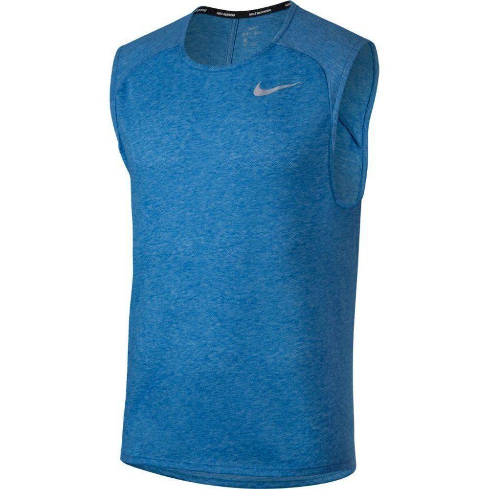 nike breathe shirt blue