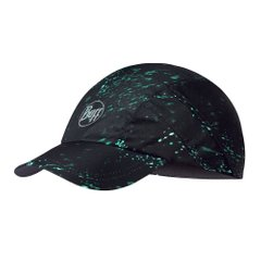 Кепка Buff Pro Run Cap Speckle Black S m U Black Green (125312.999.20.00) - оригінал в Україні