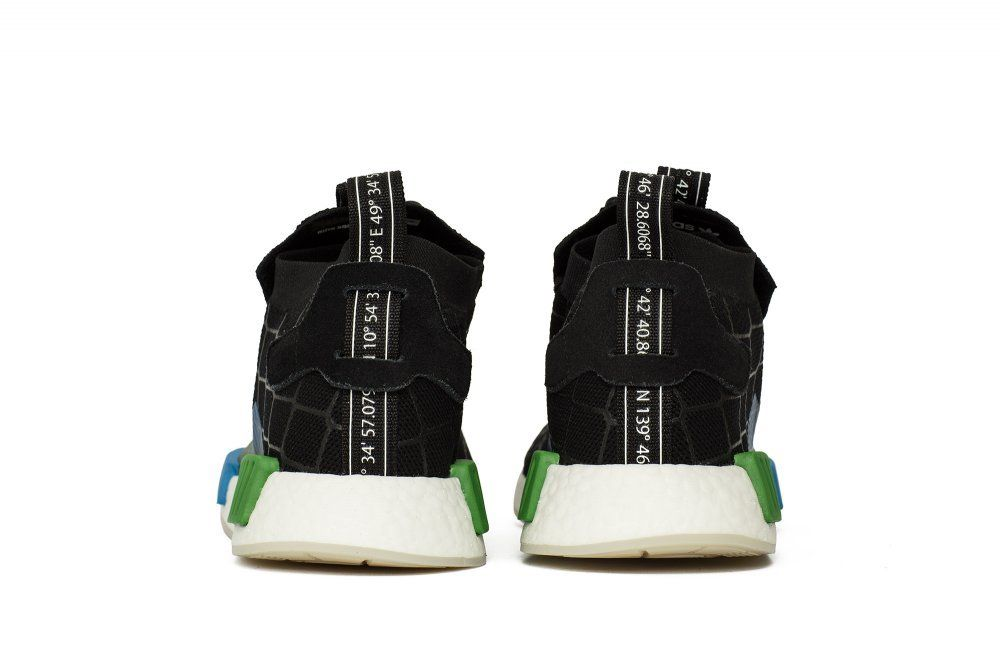 43b984158 Кроссовки adidas Consortium x Mita NMD R1 STLT Black (BC0333 ...