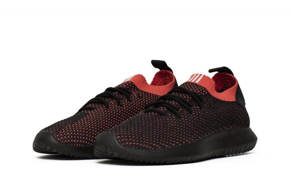 Кроссовки adidas Tubular Shadow Primeknit Black Red (AC8792)
