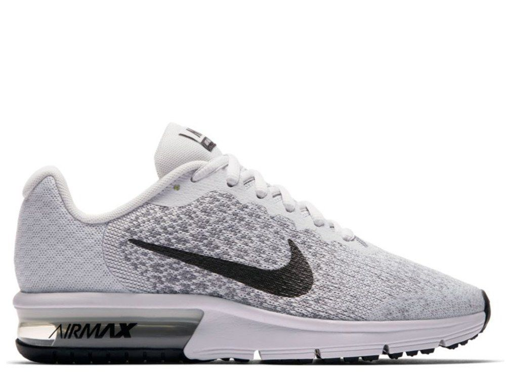 Details about Juniors NIKE AIR MAX SEQUENT 2 GS Black Trainers 869993 009