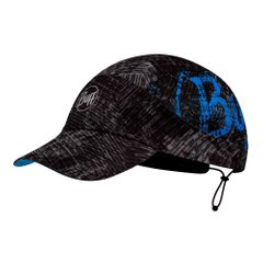 Кепка Buff Pack Run Cap Patterned Rush Graphite S m U Graphite (125322.901.20.00) - оригінал в Україні