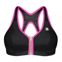 Shock Absorber Active Zipped Plunge Bra Black Pink (S00BW-BKNE) - оригінал в Україні