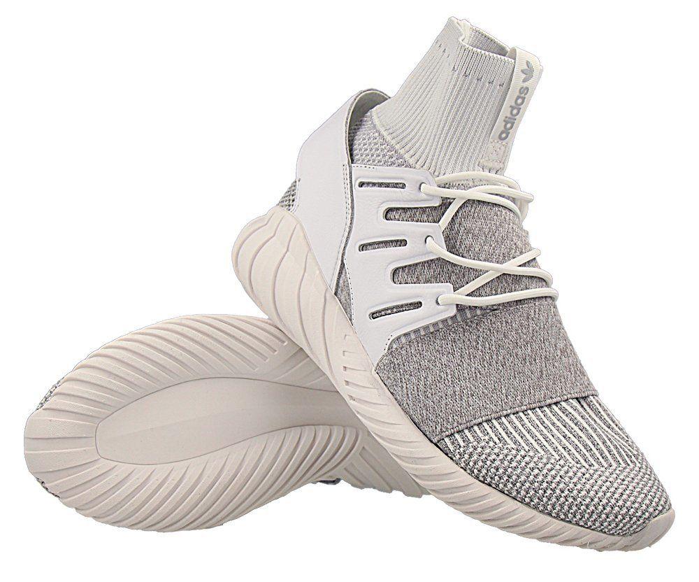 huge discount bde59 6e78b Кроссовки adidas Tubular Doom Primeknit Clear Grey (BY3553)