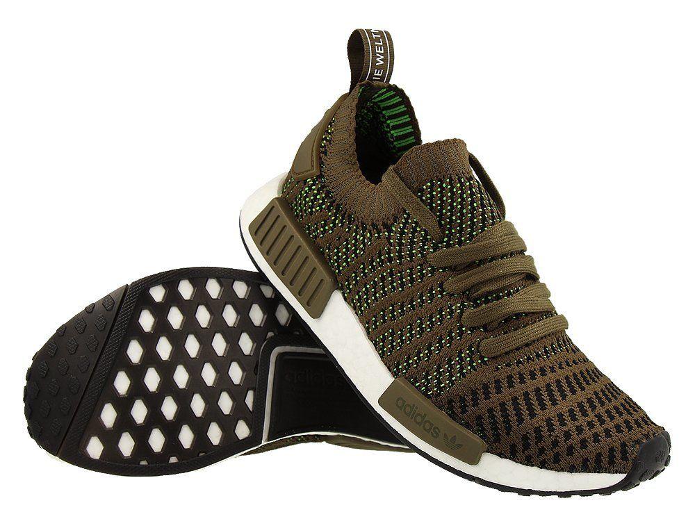 huge discount 4bd67 d96fe Кроссовки adidas NMD R1 STLT Primeknit Green (CQ2389)