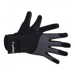 Craft Adv Lumen Fleece Glove U Black Grey - оригінал в Україні