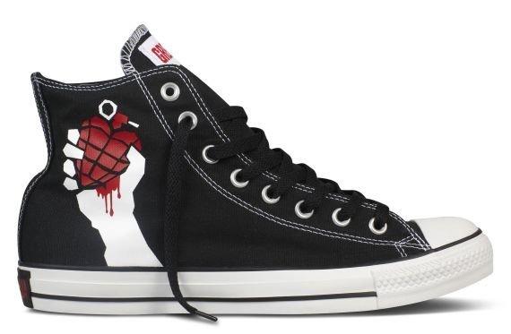 Коллекция Green Day x Converse Chuck Taylor All-Star. • Blog • Styles 19ec324ba472