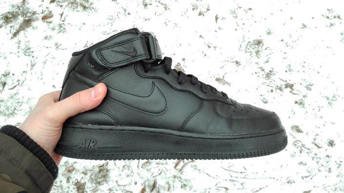 db36f26f Лично я не ожидал, что кроссовки могут проявить себя зимой, но кожаные Nike  Air Force 1 сделали это. В данный момент, опять же для меня, модель AF1 это  ...