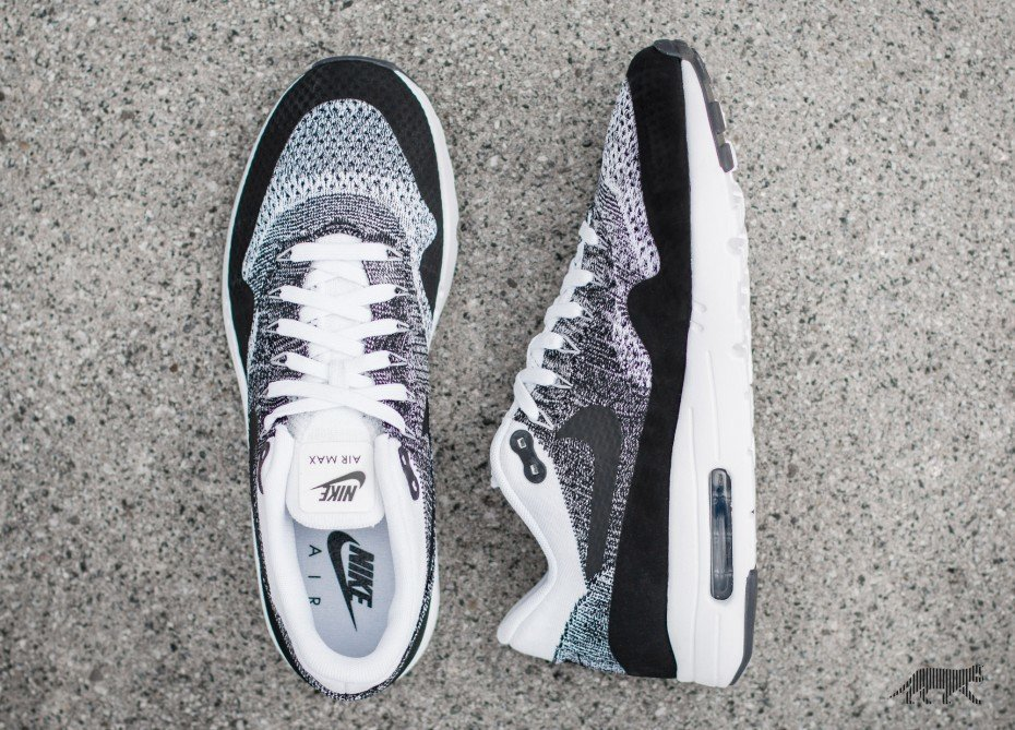 2450af0f89c Nike Air Max 1 Ultra Flyknit Black White-Black Код модели  843384-100.  Старт продаж  август 2016