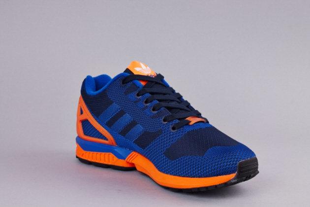 Кроссовки adidas Originals ZX Flux Weave [Dark BlueOrange