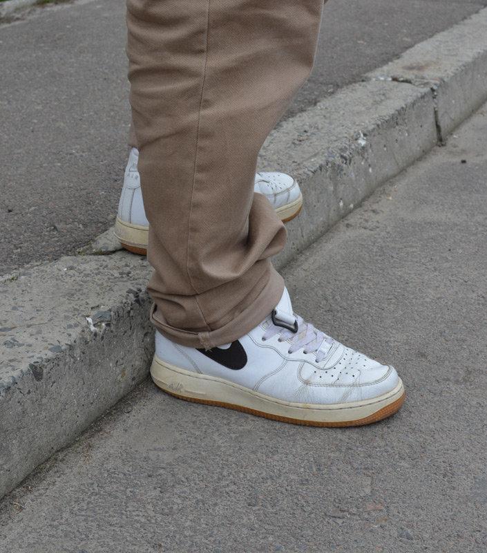 f37c5b5f Мои кроссовки Nike Air Force 1 Mid [White Velvet Brown] спустя 7 лет носки