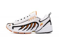 Кроссовки Fila Adrenaline Low White Black Orange Green (1010827-90T) - оригинал в Украине