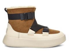 Угги UGG W Classic Boom Buckle Brown Black White (1104616-CHE), 41