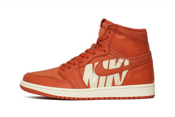 fa83763d Кроссовки Air Jordan 1 Retro High OG Orange (555088-800) - купить ...