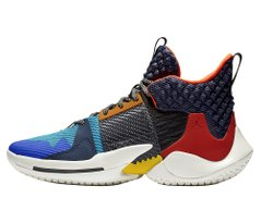Кроссовки Air Jordan Why Not Zer0.2 Future History Multicolor (AO6219-900), 47