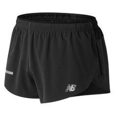 New Balance Impact Split 3 Inch Shorts Black, Одежда для бега, XL