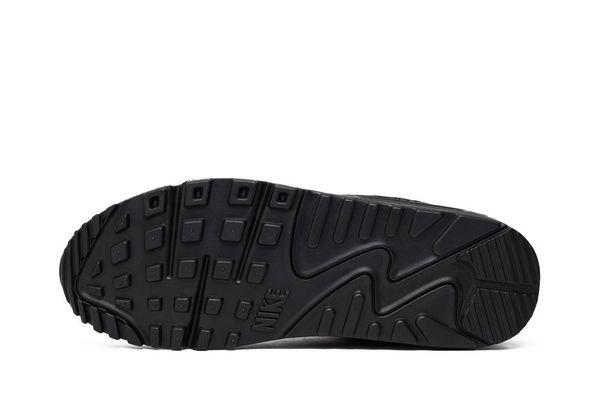 Кроссовки Nike Air Max 90 Leather Black (302519-001) - купить ... 130eb6a225025