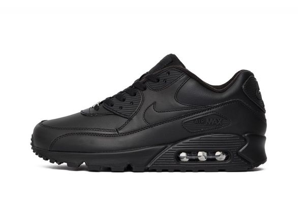 39975d4c Кроссовки Nike Air Max 90 Leather Black (302519-001), 42, Nike ...