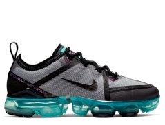 Кроссовки Nike Air VaporMax 2019 (GS) Gray Black (AJ2616-012), 40, Nike Air Vapormax
