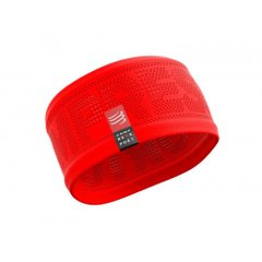 Compressport Headband V2 On Off Red, One Size, Для бега и тренировок