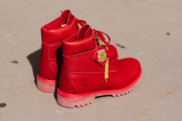 Коллаборация Billionaire Boys Club x Timberland 6 Inch Boot [Crimson]