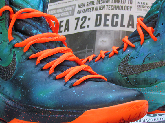 Кастомизация Nike KD 5 [Area 72 Remix] от JustWin - блог Styles.ua