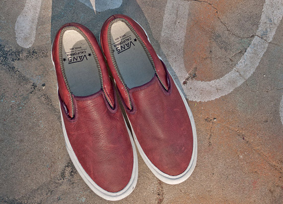 Набор Vans California Slip-On [Tudor Leather]