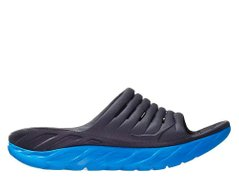 Шлепки для бега Hoka One One Ora Recovery Slide 2 Black Blue - оригинал в Украине