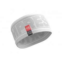 Compressport Headband V2 On Off White, One Size, Для бега и тренировок