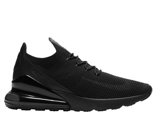 ad192d4f Кроссовки Nike Air Max 270 Flyknit Triple Black (AO1023-005), 46, ...