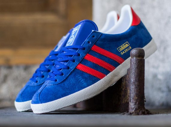 Кроссовки adidas Originals Gazelle OG [Collegiate Royal Hi-Res Orange]