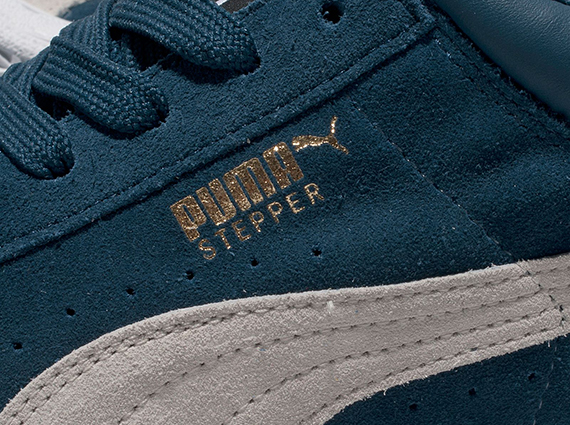 Кроссовки Puma Stepper [Navy White]