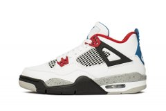 Кроссовки Air Jordan 4 Retro What The (GS) White Red Blue (408452-146), 40