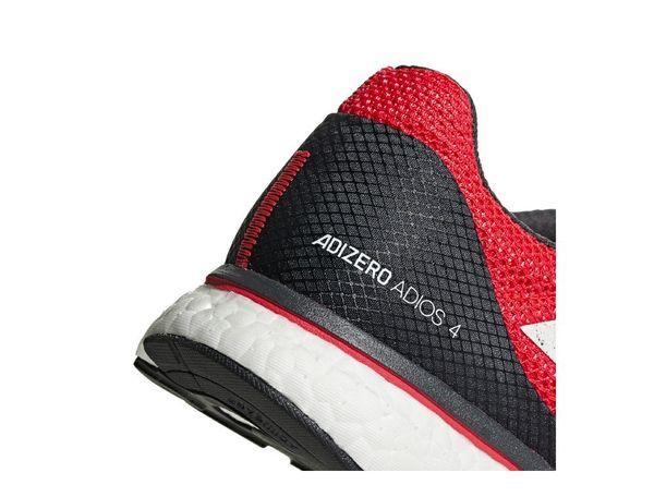 f41c83ff ... Кроссовки adidas Adizero Adios 4 Black Red (B37308), 42, Асфальт ...