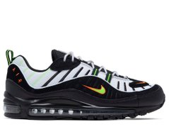 Кроссовки Nike Air Max 98 White Black (640744-015), 46, Nike Air Max