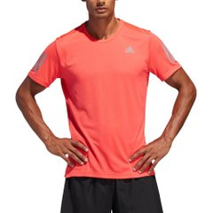 adidas Own the Run Tee Coral Red, Одежда для бега, XL