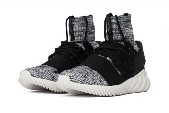 Кроссовки adidas Tubular Doom Primeknit Grey Three (BY3550), 41 ⅓