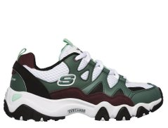 Кроссовки Skechers D-Lites 2 x One Piece Green (12977-WGR), 39