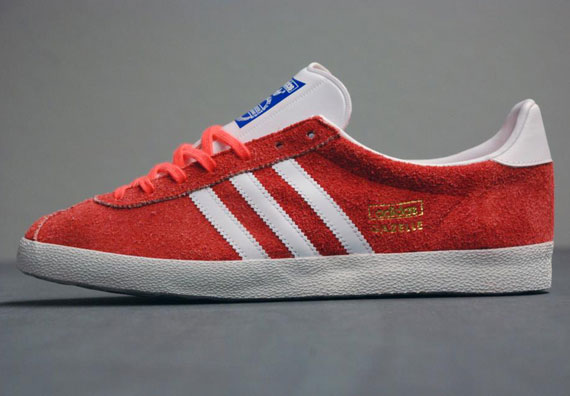Кроссовки adidas Originals Gazelle OG [Infrared Metallic Gold]