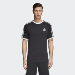 Футболка adidas 3-Stripes Black (CW1202) - оригинал в Украине