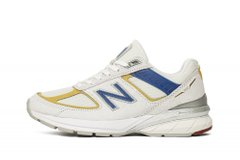 Кроссовки New Balance 990v5 White Blue Gold (W990NR5) - оригинал в Украине