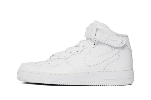 7d8f7094 Кроссовки Nike Air Force 1 Mid White (315123-111) - купить оригинал ...