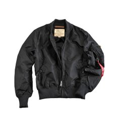 Куртка Alpha Industries MA-1 TT Women (141041-03-BLACK), S
