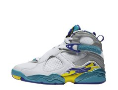 Кроссовки Air Jordan 8 Retro White Aqua (CI1236-100) - оригинал в Украине