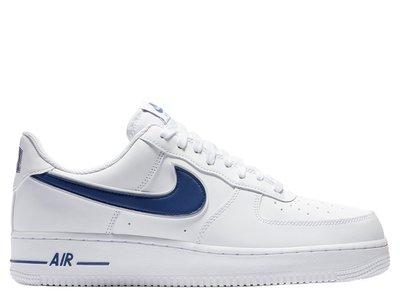 online retailer 84472 17429 Кроссовки Nike Air Force 1 Low White Deep Royal (AO2423-103), 46